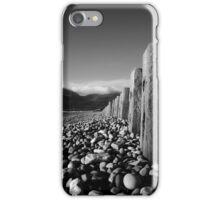 Murlough Beach View Mono iPhone Case/Skin