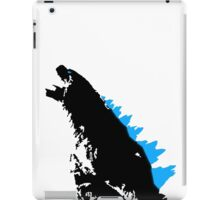 Godzilla Black and Blue iPad Case/Skin