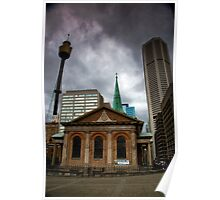 St. James Church MLC and Centre Point Poster