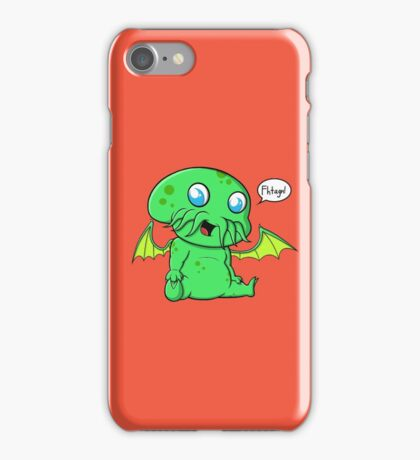 Lil' Cthulhu iPhone Case/Skin