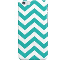 zig zag blue iPhone Case/Skin