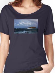 Sheep Island Women's Relaxed Fit T-Shirt