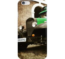 The green antique iPhone Case/Skin