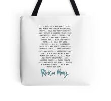 Rick and Morty Forever Tote Bag