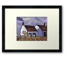 Rural Irish Cottages Framed Print