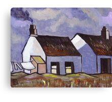 Rural Irish Cottages Canvas Print