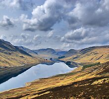 Mirror Loch II by Euan Christopher