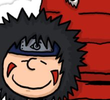 The Kiba & Akamaru Show Sticker