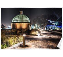 Greenwich Foot Tunnel - Cutty Sark Poster
