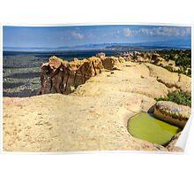 El Malpais Sandstone Bluffs Poster