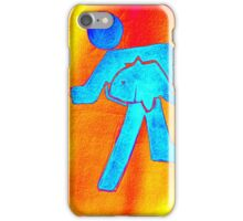 Don't steal the fish 3 iPhone Case/Skin