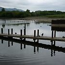 Pier at Derwentwater by mousesuzy