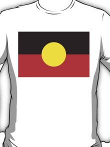 flag of aboriginal T-Shirt