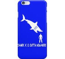 Shark.K.O. Outta Nowhere iPhone Case/Skin