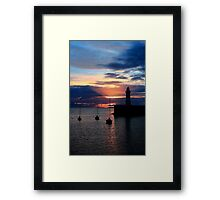 The Dee, Sunrise Framed Print