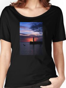 Donaghadee, Sunrise Women's Relaxed Fit T-Shirt