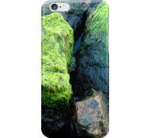 Green stone iPhone Case/Skin