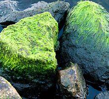 Green stone by MartAida