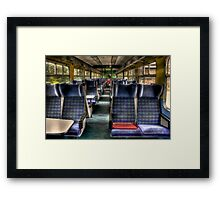 Almost Empty Framed Print