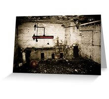 desolate. Greeting Card