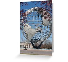 Unisphere. Queens, New York City Greeting Card