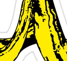 Banana Peel Sticker