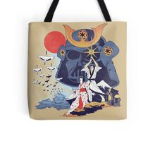 Samurai Wars Tote Bag