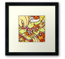 Tinies-Monopoly Framed Print