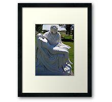Full image of statue Framed Print
