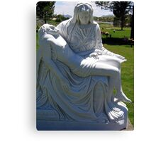 Full image of statue Canvas Print