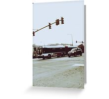 Intersection II Greeting Card