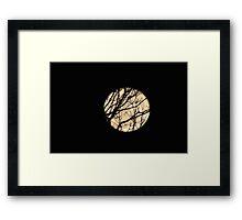 Werewolf Magic ... Framed Print
