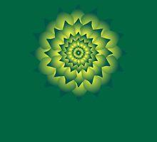 Green fire flower Unisex T-Shirt