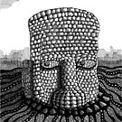 214 - STONE HEAD - INK - 2007 by BLYTHART