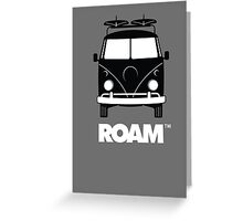 ROAM Surfer Bus  Greeting Card