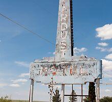 Abandoned Stardust Motel. Marfa, Texas by Richard Peevers