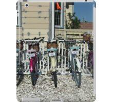 beach bikes iPad Case/Skin