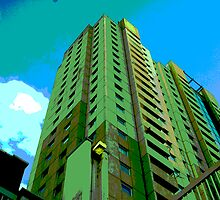 Highrise at Edmonton by tarique