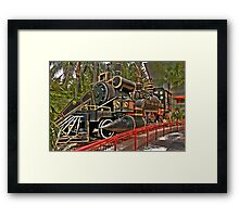 The Jules Verne Train Framed Print