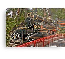 The Jules Verne Train Metal Print