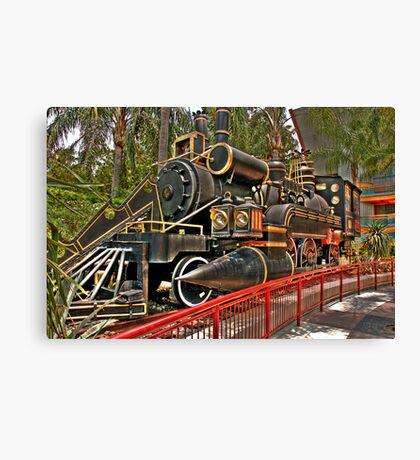 The Jules Verne Train Canvas Print