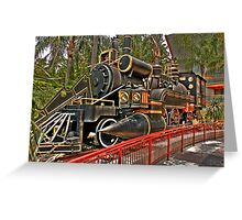 The Jules Verne Train Greeting Card