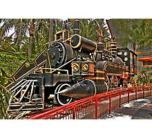 The Jules Verne Train Photographic Print