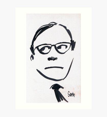 Jack Benny...Wellll! Art Print