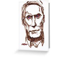 Mr. Eastwood Greeting Card