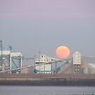 MOON OVER LIVERPOOL DOCKS by gothgirl