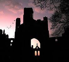 Kirkstall Abbey Sunset by TheStaggeringGenius