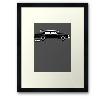 ROAM Rat Caddy Surfer  Framed Print