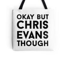 Chris Evans Tote Bag