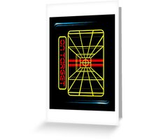 STAY ON TARGET... Greeting Card